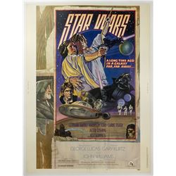 Star Wars Style D 30x40 Poster.