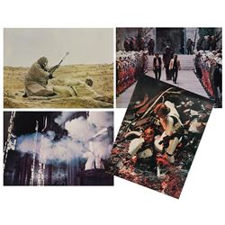 Set of (4) Star Wars Large Lobby Cards.