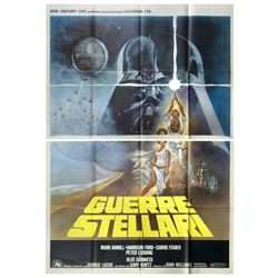 Star Wars Italian Four Sheet Poster.