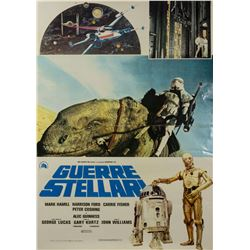 Star Wars Italian Style B One Sheet Poster.