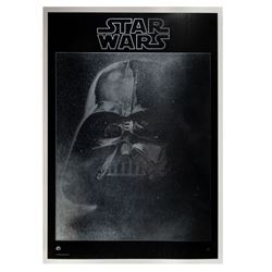 Star Wars Darth Vader Mylar Record Store Poster.