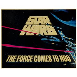 Star Wars First Televised Appearance HBO Poster.