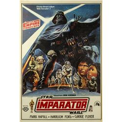 The Empire Strikes Back Turkish One Sheet Poster.