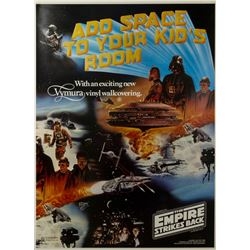 The Empire Strikes Back Wallcovering Poster.