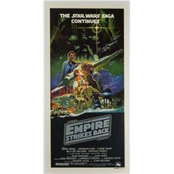 The Empire Strikes Back Australian Daybill Poster.