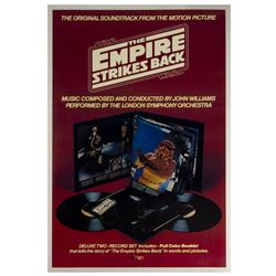 The Empire Strikes Back RSO Soundtrack Poster.