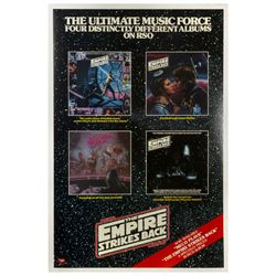 The Empire Strikes Back RSO Record Album Poster.