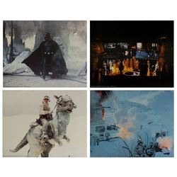 Set of (4) The Empire Strikes Back Large Lobby Cards.