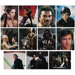 Set of (11) Return of the Jedi Large Lobby Cards.