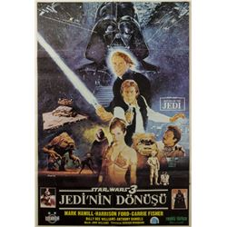 Return of the Jedi Turkish One Sheet Poster.