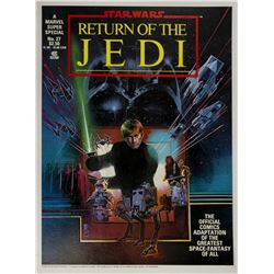 Return of the Jedi Marvel Comics Poster.