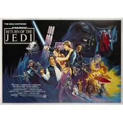 Return of the Jedi British Quad Poster.