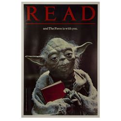 Return of the Jedi Yoda Library Poster.