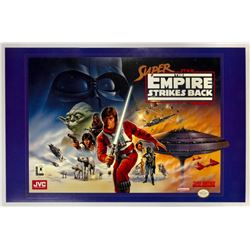The Empire Strikes Back Super Nintendo Poster.