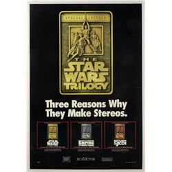 Star Wars Trilogy RCA Victor Advertising Poster.