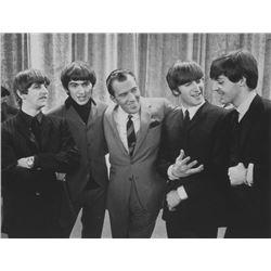 Framed Photo of Beatles on The Ed Sullivan Show