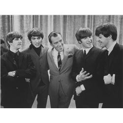 Framed Photo of Beatles on The Ed Sullivan Show