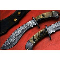 Handmade Custom Made Knives Great For Hunters