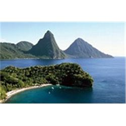 Enjoy the beautiful Island of St. Lucia  At A Beachfront Accommodation