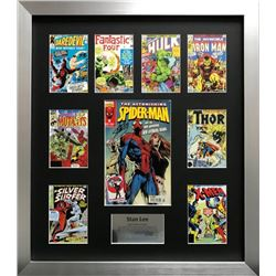 Stan Lee Montage Classic Black Frame