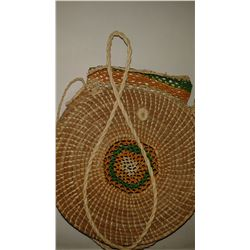 Handmade Female Straw Handbag