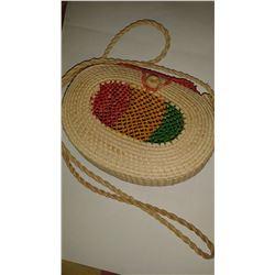 Handmade Straw Handbag