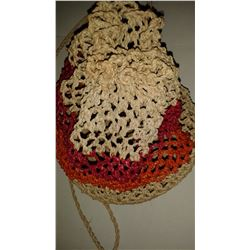 Handmade Crochet Female Purse