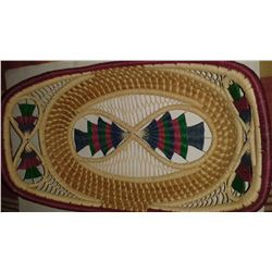 Handmade Straw Table Basket