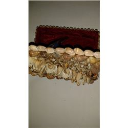 Shell Made Jewelry Box Thar is Handcrafted