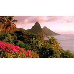 Spend  7-10 Nights of Deluxe Oceanview Accommodations in St. Lucia For 6 People