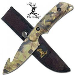 """Camouflage 8"""" Skinning Knife"""