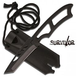 Survivor Knife With A Whistle Blower