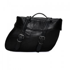 2 Piece Saddle Genuine Leather Bag