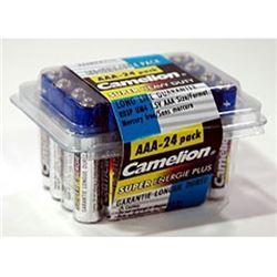 Heavy Duty 24 Pack of AAA Batteries