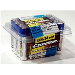 Heavy Duty 24 Pack of AAA Batteries