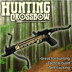 Hunting Crossbow With Self Cocking Pistol