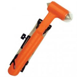 Emergency Rescue Hammer (Bright Orange)