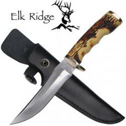 Deer Antler Hunting Knife by Elk Ridge