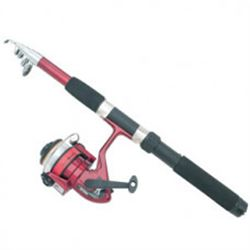 Telescoping Rod and Reel Fishing Set