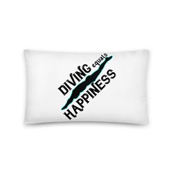 Pillow For The Diver In Your Life
