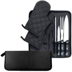 7 Piece CHEF SET  WITH ZIPPER CASE INCLUDED
