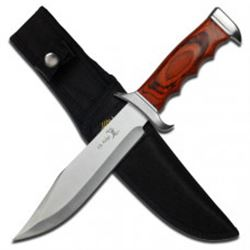 Bowie Wood Handle Hunting Knife
