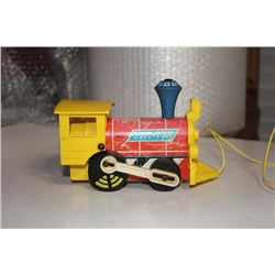 1964 Vintage Toot Toot Train by Fisher Price