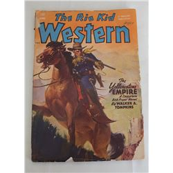 1949 The Rio Kid Western Magazine