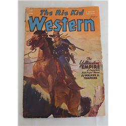 1949 The Rio Kid Western Magazine