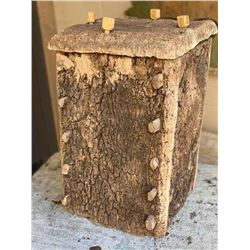 Vintage Cork Bee Hive House