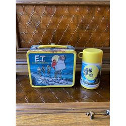 1982 ET Vintage Lunch Box and Thermo