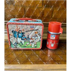 Hulk Lunchbox /1964 NFL OUARTERBACK Lunchbox and THERMO