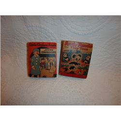 Little Orphan Annie and Andy Panda Little Books/ Vintage 1940