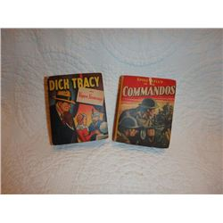 Vintage Dick Tracey/ Commandos Little Books/1940Whitman Publishing